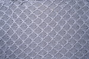 Gray knitting wool texture