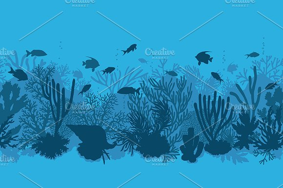 Life on Coral Reef in Illustrations - product preview 4