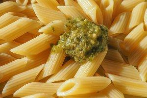 penne pasta food