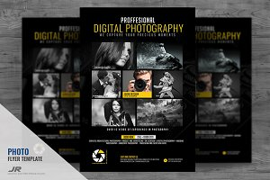 Photography Service Flyer Design