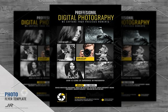 Photography Service Flyer D-Graphicriver中文最全的素材分享平台