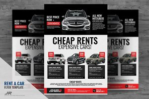 Car Rental Services Flyer
