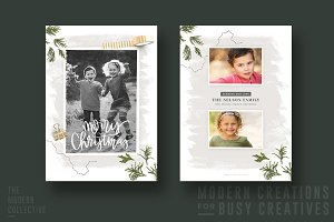 Christmas Card | Wrapped in Christma