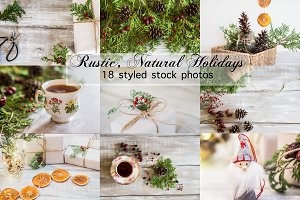 Rustic Holiday Photo Bundle