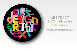 Text Graphic Design