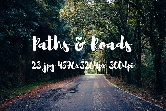 Roads Paths II