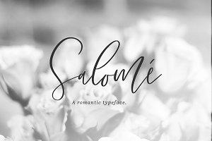 Salome Signature Font