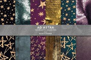 Ad Astra: Golden Hand Drawn Stars