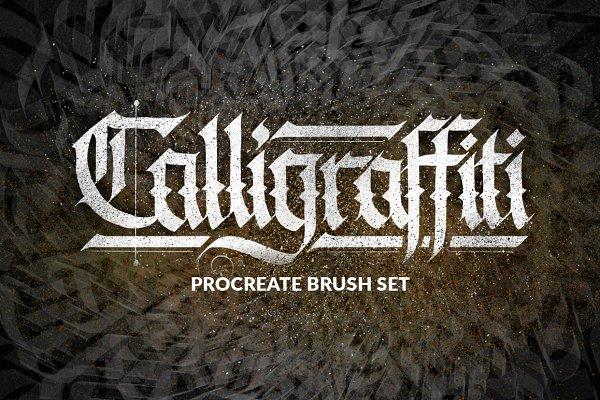 Calligraffiti Procreate Brushes