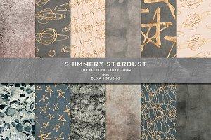 Stardust Gold Foil Stars & Textures