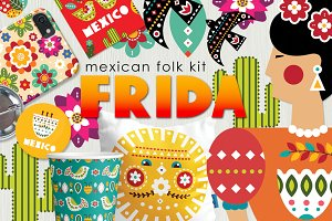 Frida - Mexican folk kit