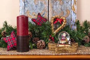 Christmas atmosphere decoration