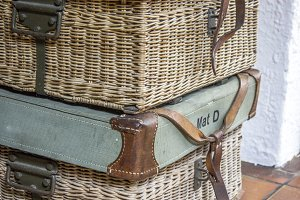 Vintage Travel Baskets