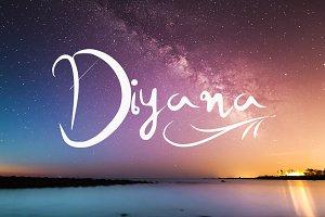 Diyana Handwritten Font