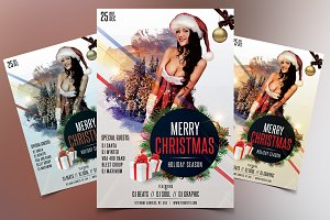 Merry X-Mas and Holidays - Flyer