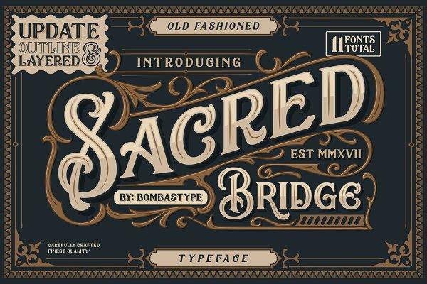 Sacred Bridge + Extras