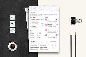 Duo Color Resume/CV Set
