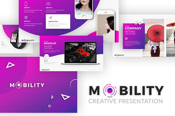 Mobility - Creative Present-Graphicriver中文最全的素材分享平台