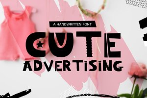 FONT Cute Advertising