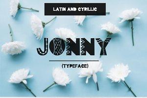 Font Jonny (latin & cyrillic)