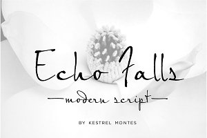 Echo Falls Modern Script