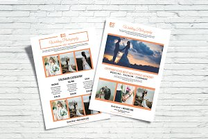 Wedding Photography Price List -V701