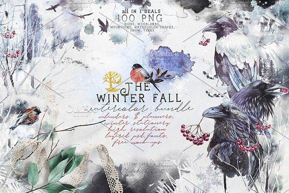 Winter fall bundle. all in 1