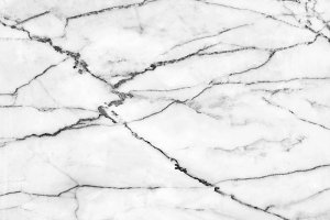 White marble flooring, natural.