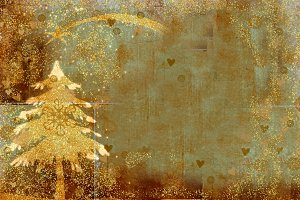 Christmas tree greeting backgrounds