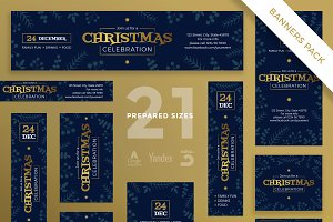 Banners Pack | Christmas Celebration