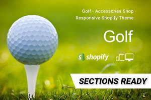 Golf - Shopify Theme Section Ready