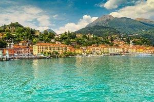 Menaggio cityscape, Italy
