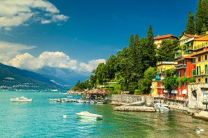Varenna luxury tourist resort