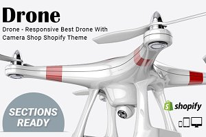 Drone - Shopify Theme Sections Ready