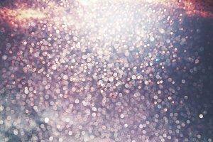 Festive shiny glittery event bokeh