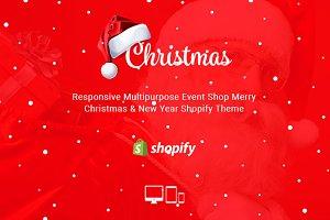 Christmas - Responsive Shopify Theme