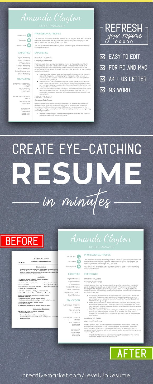 minimalist resume template pc mac resumes