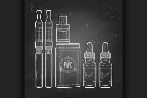 Vector vaping set