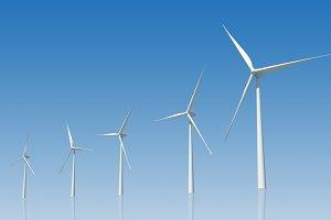 3D wind turbine (PSD)