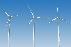 3D wind turbine ( PSD )