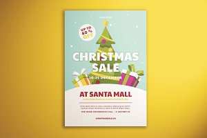 Christmas Sale Flyer Vol. 01