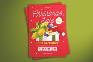 Christmas Sale Flyer Vol.02