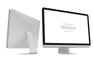 3D computer mockup (PSD)