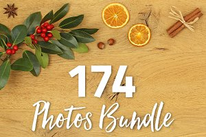 174 Hi-Res Photos Bundle