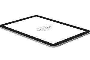 3D of tablet mockup (PSD)