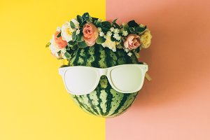 watermelon and accessories