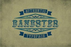Gangster Vintage Label Typeface