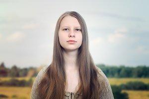 Russian girl beauty