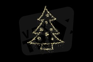 Christmas Particles - Tree
