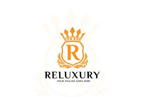 Reluxury – Logo Template